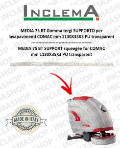 MEDIA 75 BT goma de secado soporte para fregadora COMAC