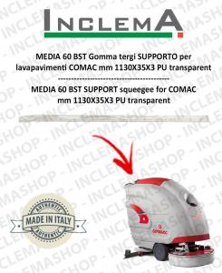 MEDIA 60 BST goma de secado soporte para fregadora COMAC