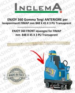 ENJOY 360 goma de secado delantera para fregadora FIMAP
