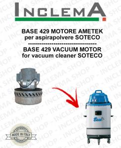 BASE 429 motor de aspiración AMETEK para aspiradora SOTECO-2