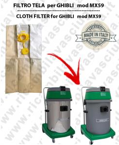 Papierfilter liter 19 mit stopper 10 Stücke für Staubsauger MAXICLEAN MX 59