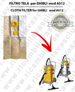 Papierfilter liter 19 mit stopper 10 Stücke für Staubsauger GHIBLI AS12