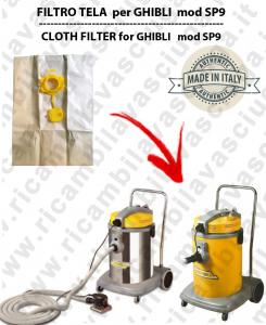 Papierfilter liter 19 mit stopper 10 Stücke für Staubsauger GHIBLI SP9/COMBI