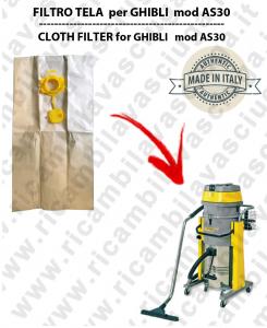 Papierfilter liter 19 mit stopper 10 Stücke für Staubsauger GHIBLI AS30