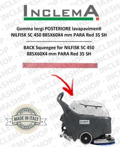 Hinten Sauglippen für Scheuersaugmaschinen Nilfisk SC 450