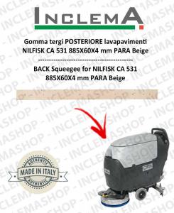 Hinten Sauglippen für Scheuersaugmaschinen Nilfisk CA 531