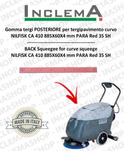 Hinten Sauglippen für tergipavimento curvo Nilfisk CA 410