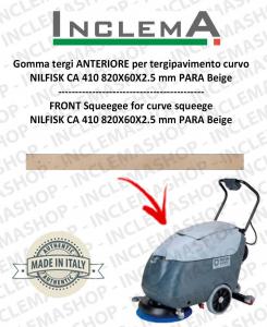 Vorne Sauglippen für tergipavimento curvo Nilfisk CA 410