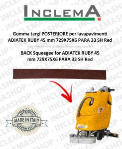 Hinten Sauglippen (optional) für Scheuersaugmaschinen ADIATEK RUBY 45