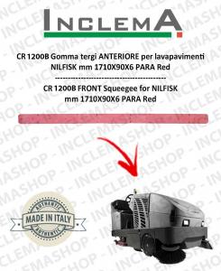 CR 1200 B Vorne Sauglippen für Scheuersaugmaschinen NILFISK