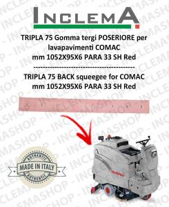 TRIPLA 75 B II SERIE Hinten Sauglippen für Scheuersaugmaschinen COMAC