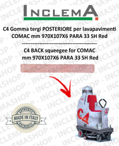 C4 Hinten Sauglippen für Scheuersaugmaschinen COMAC