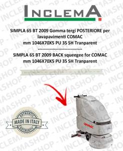 SIMPLA 65 BT 2009 Hinten Sauglippen für Scheuersaugmaschinen COMAC