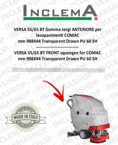 VERSA 55/65 BT Vorne Sauglippen für Scheuersaugmaschinen COMAC (tergi da 990mm)