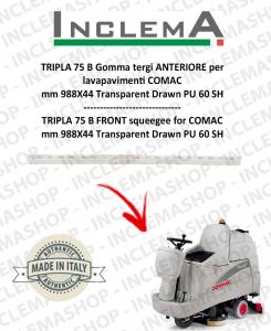 TRIPLA 75 B Vorne Sauglippen für Scheuersaugmaschinen COMAC (tergi da 926mm)