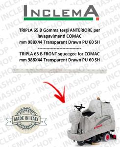 TRIPLA 65 B Vorne Sauglippen für Scheuersaugmaschinen COMAC (tergi da 926mm)