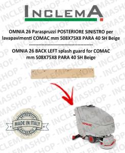 OMNIA 26 Paraspruzzi hinten SINISTRO für Scheuersaugmaschinen COMAC