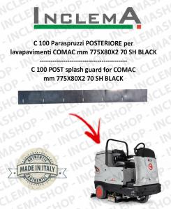 C 100 Spritzschutz hinten für Scheuersaugmaschinen COMAC