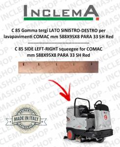 C 85 Spritzschutz linke Seite-DESTRO für Scheuersaugmaschinen COMAC