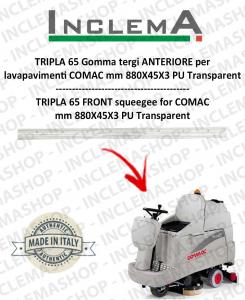 TRIPLA 65 Vorne Sauglippen für Scheuersaugmaschinen COMAC (tergi da 830mm)