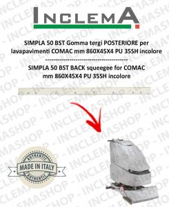 SIMPLA 50 BST Hinten Sauglippen für Scheuersaugmaschinen COMAC