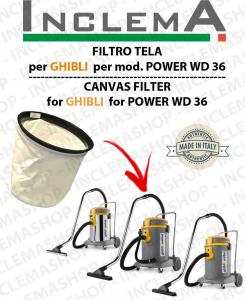 POWER WD 50  FILTRO TELA PER aspirapolvere GHIBLI