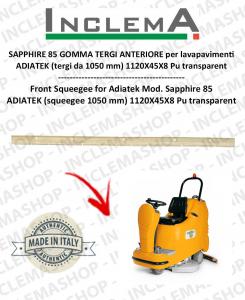 SAPPHIRE 85 GOMMA TERGI ANTERIORE per lavapavimenti ADIATEK (tergi da 1050 mm)