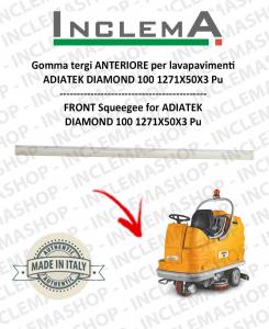 Gomma tergi ANTERIORE per lavapavimenti  ADIATEK DIAMOND 100