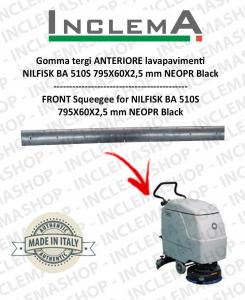 Gomma tergi ANTERIORE per Nilfisk BA 510S