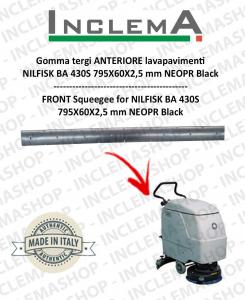 Gomma tergi ANTERIORE per Nilfisk BA 430S