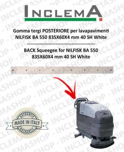 Gomma tergi POSTERIORE per Nilfisk BA 550