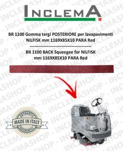 BR 1100 Gomma tergi POSTERIORE per lavapavimenti NILFISK