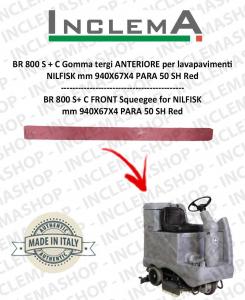BR 800 S + C Gomma tergi ANTERIORE per lavapavimenti NILFISK