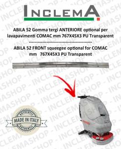 ABILA 52 gomma tergi ANTERIORE optional per lavapavimenti COMAC