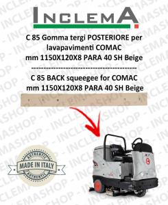 C 85 Gomma tergi POSTERIORE per lavapavimenti COMAC