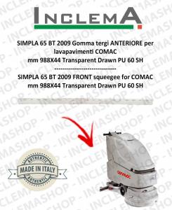 SIMPLA 65 BT 2009 Gomma tergi ANTERIORE per lavapavimenti COMAC
