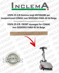 VISPA 35 E/B Gomma tergi ANTERIORE per lavapavimenti COMAC