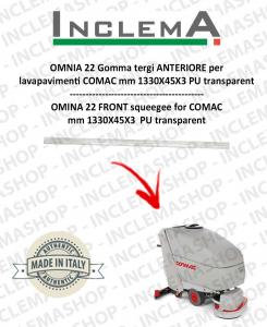 OMNIA 42 B Gomma tergi ANTERIORE per lavapavimenti COMAC