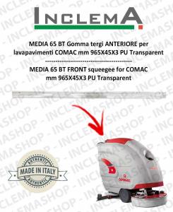 MEDIA 65 BT Gomma tergi ANTERIORE per lavapavimenti COMAC
