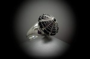 anello argento 925 con zaffiro