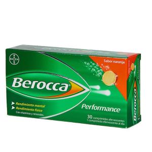 Berocca Performance 30 Compresse Effervescenti Orange