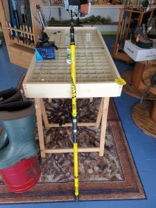 Combo canna con mulinello per la pesca siluro e storione