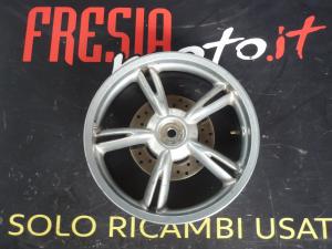 CERCHIO RUOTA POSTERIORE USATO PEUGEOT LOOXOR 125 ANNO 2008