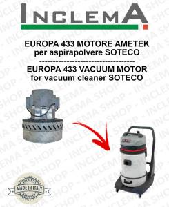 EUROPA 433 Ametek Saugmotor für Staubsauger SOTECO