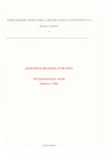 Joseph Schuster (1748-1812) Sei quartetti per archi (Padova, 1780) - 6