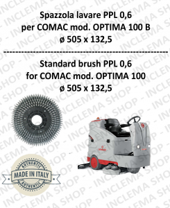 OPTIMA 100 B spazzola lavare PPL 0,6 per lavapavimenti COMAC-2