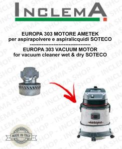 EUROPA 303 Ametek Saugmotor für Staubsauger SOTECO