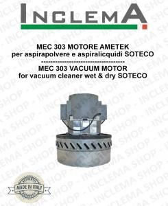 MEC 303 Ametek Saugmotor für Staubsauger SOTECO