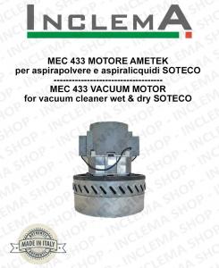 MEC 433 Ametek Saugmotor für Staubsauger SOTECO