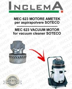 MEC 623 MOTORE ASPIRAZIONE AMETEK per aspirapolvere SOTECO